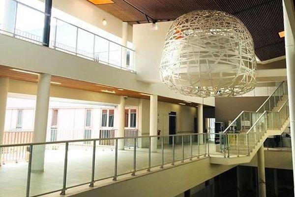 Hôpital de Koné : intérieur avant ouverture