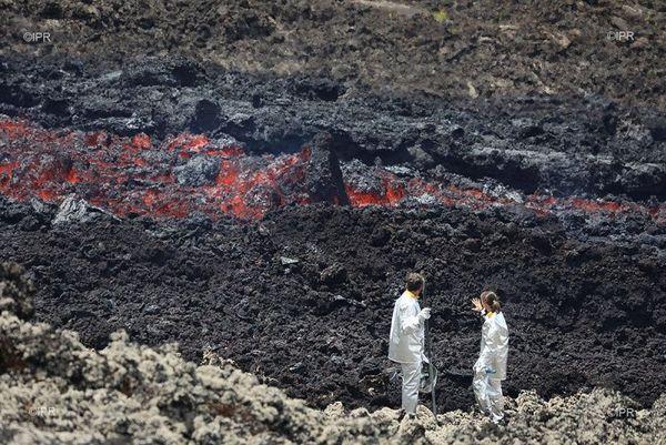 Volcan prélèvements février 2019