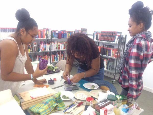 fête des bibliothèques 2017 médiathèque de Rivière-Salée