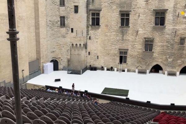 theatre avignon visite palais papes