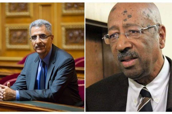 Les sénateurs Antoine Karam et Georges Patient