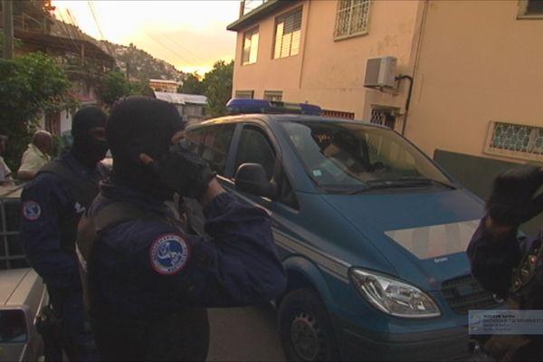 Gendarmes en opération