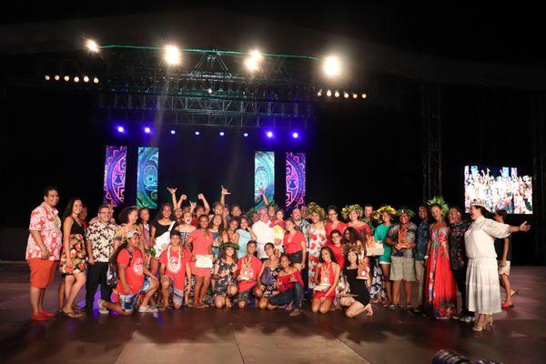Le collège de Bora Bora remporte le Heiva Taure'a