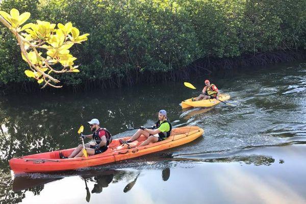 raid multisports de Canala kayak 30 juillet 2017