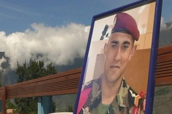 Antony Bigoni, soldat réunionnais décédé