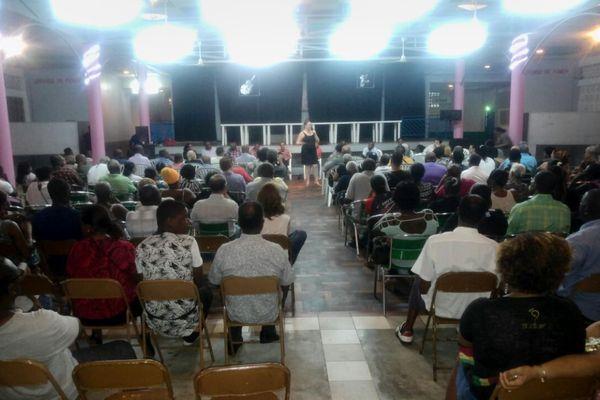 Meeting des élus de Matoury