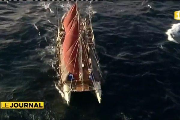 La pirogue Hokulea de retour en Polynésie