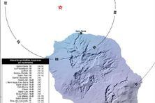 Un tremblement de terre de magnitude 4,4 a secoué La Réunion, lundi 21 septembre, vers 21 heures.