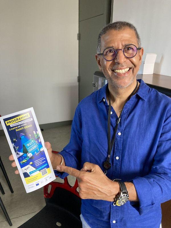 Nuit des chercheurs à Saint-Denis Mohamed Ait-Aarab, chercheur en littérature francophone