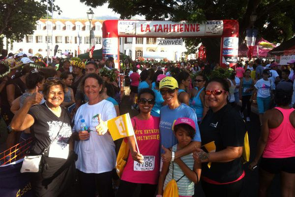 Course la Tahitienne 2015