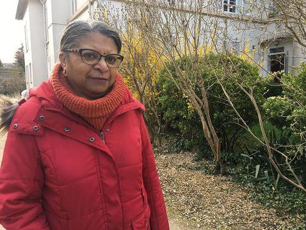 Brigitte Kalaha, ancienne pensionnaire du centre d'adaptation à la vie métropolitaine de Crouy-sur-Ourcq