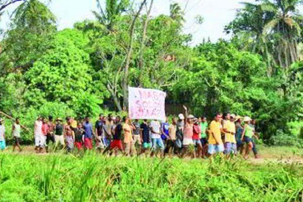 Manifestation de Mananjary