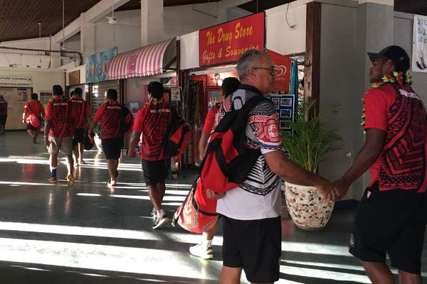 départ rugbymen du vanuatu