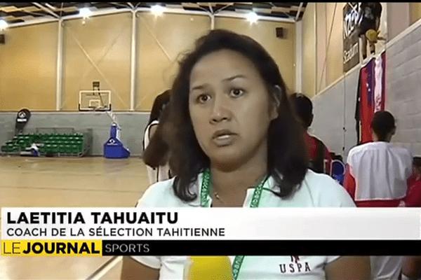 Le bronze pour les tahitiennes aux Océania de Basket