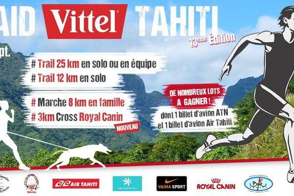 Affiche Raid Vittel Tahiti