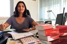"""Première femme à accéder à la présidence du Tribunal de Grande Instance de St-Pierre, Valérie Lebreton estime que """"les femmes ne doivent pas choisir entre vie familiale et carrière professionnelle""""."""
