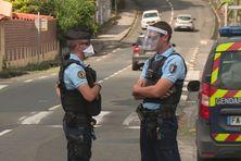 Gendarmes sur le terrain (illustration).