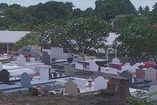 Il ne reste plus beaucoup de place au cimetière de Paea.