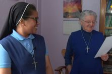 Soeur Marie-Jeanne et Soeur Marie-Bernard sont les deux religieuses de Miquelon.