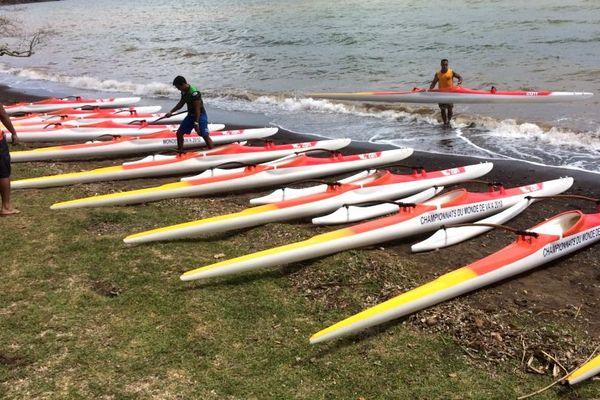 Championnats de Calédonie de va'a, 10 février 2018