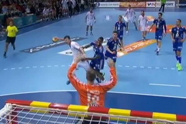Handball : France/Croatie