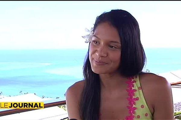 24 heures aux côtés de miss Tahiti