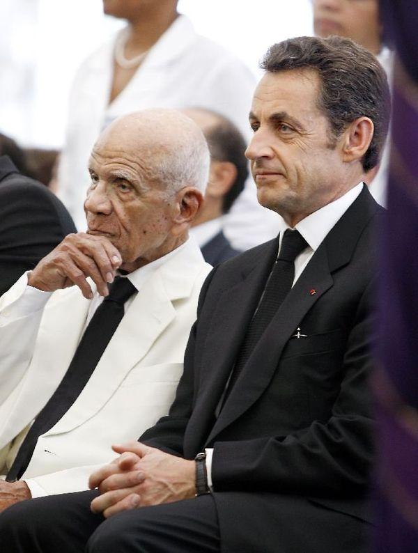 Aliker et Sarkozy