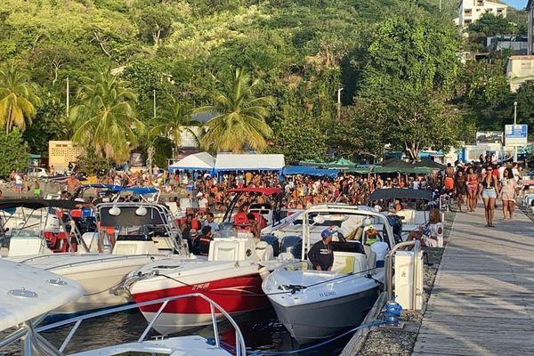 Grande Anse Anse d'Arlet 300 personnes enfreignent les règles sanitaires