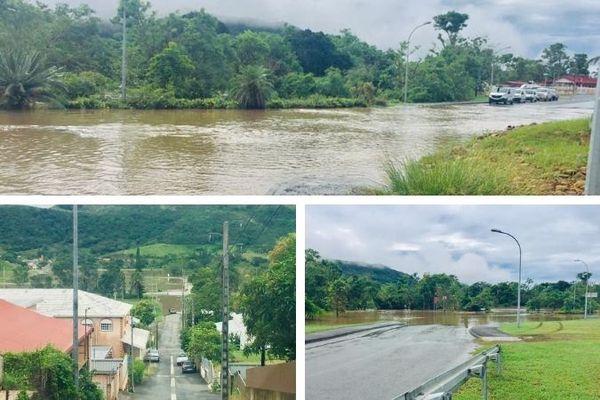 Inondations à Bourail 14 avril 2021