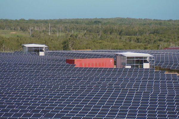 Nouvelle Calédonie : la 1ère unité de production d'énergie photovoltaïque
