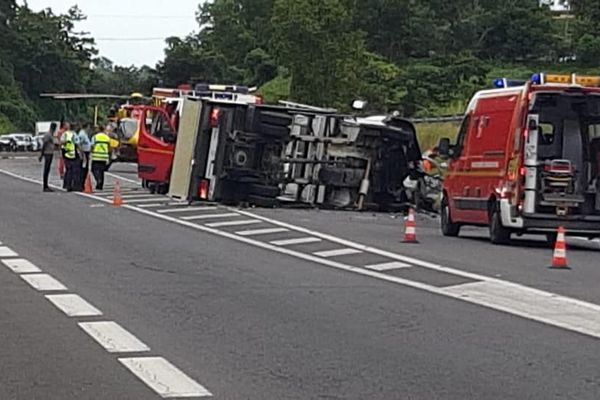 accident à Goyave 19 dec 18 1