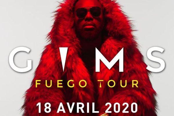 Gims - Fuego tour