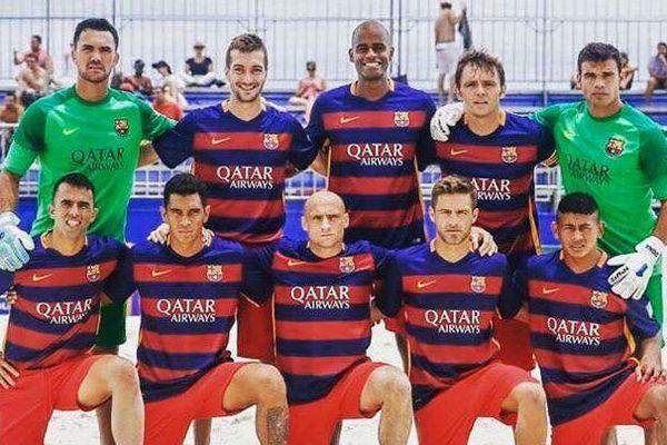F.C Barcelone Beach Soccer