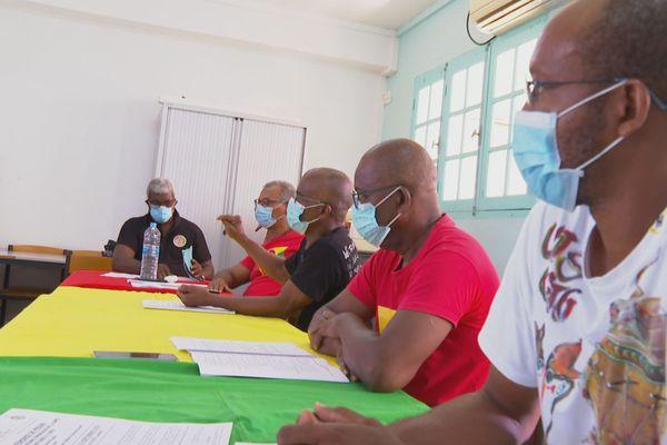Conf de presse travailleurs de la santé 2