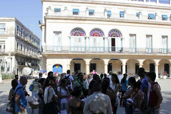 Vieille Havane touristes