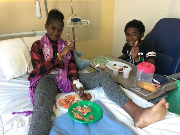 Noël des enfants malades au Médipôle 2 (25 décembre 2017)