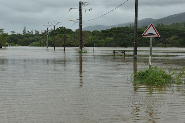 Inondations à Pouebo
