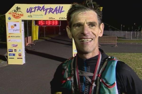 Capture arrivée ultra trail de Nouvelle-Calédonie arène du sud Païta Christophe Loubriat (4 juin 2017)