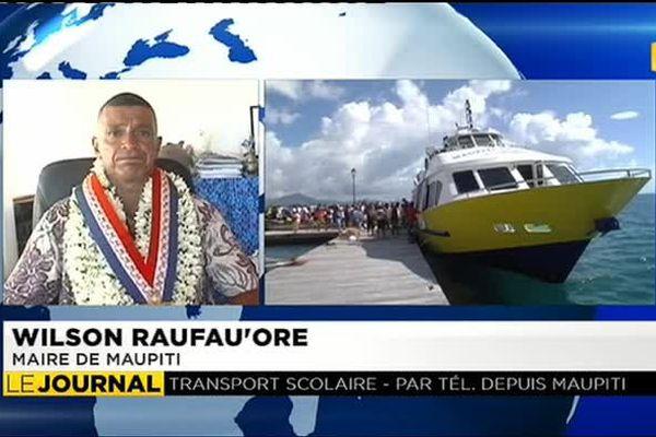 Faute de desserte maritime, les lycéens de Maupiti prennent l'avion