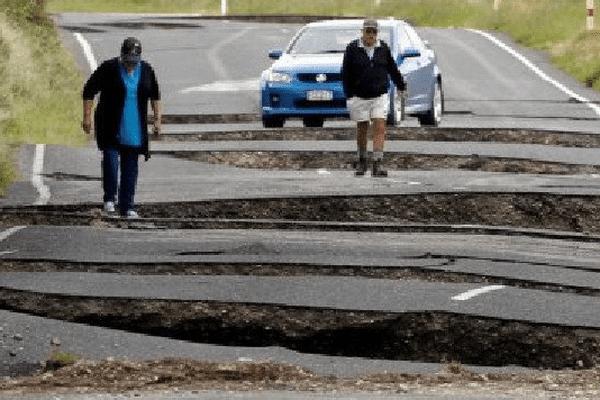 La région de Christchurch une nouvelle fois durement touchée par un tremblement de terre
