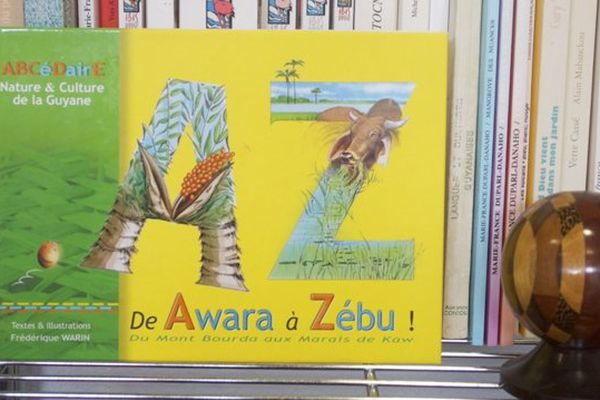 Couverture Abécédaire Awara à Zébu