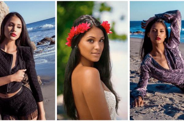 Hinarere Taputu, Miss Tahiti 2014, 1ère dauphine de Miss France 2015, candidate à Miss Monde 2016