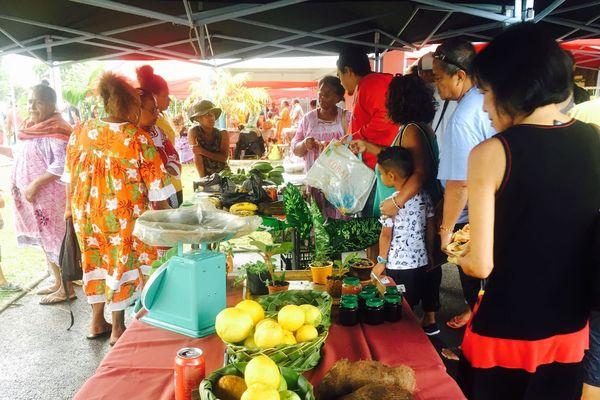 Mont Dore : marché de Boulari accueille les produits de Yaté