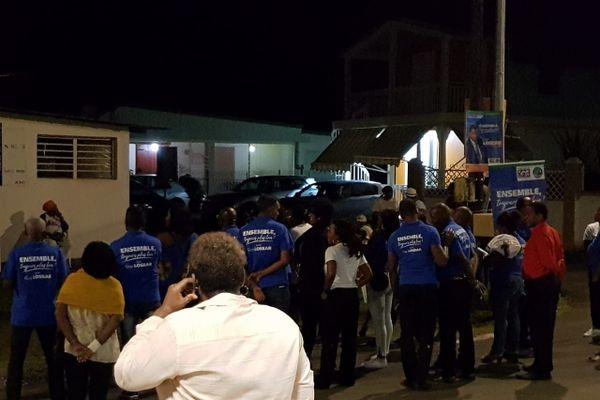 Conférence électorales à Petit Bourg