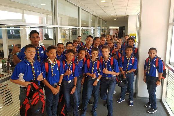Scouts laïcs en voyage pour l'Indonésie, 27 janvier 2020