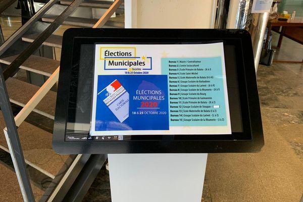 Répartition des bureaux de vote à Matoury