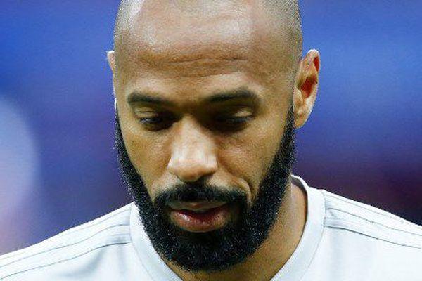 Thierry Henry, pendant la coupe du monde en Russie