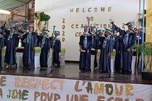 Cérémonie de graduation à l'école élémentaire Emmanuel Bruno au François.