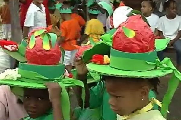 carnaval en fruits
