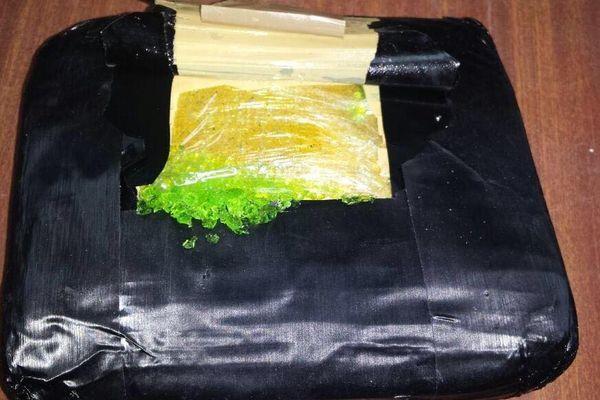 Emballage drogue saisie du 27/03